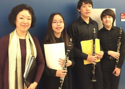 Students in MD State Solo Festival